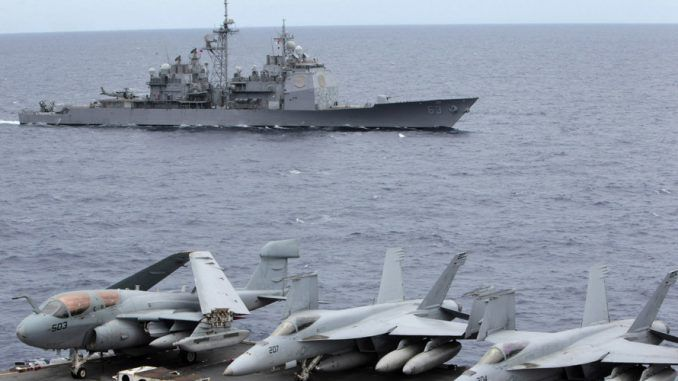 Beijing ready to confront Washington over S. China sea dispute