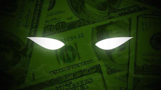 Anonymous message to humanity: Money is enslaving you
