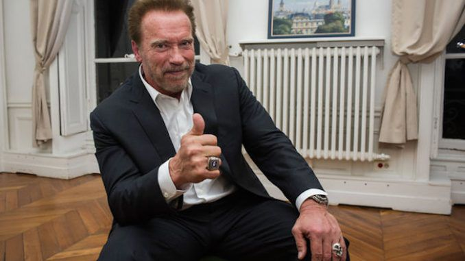 Arnold Schwarzenegger gives up meat