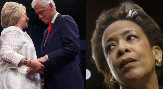 Attorney General Loretta Lynch was threatened by Bill Clinton, according to a Department of Justice source, which then culminated in Hillary Clinton being let off the hook.