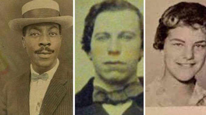 The remarkable similarities between these famous faces and their historical twins have left many conspiracy theorists convinced time travel exists and these celebrities have travelled back in time.