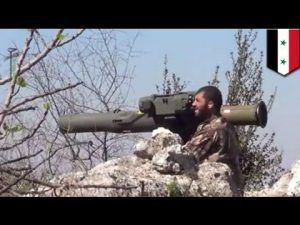 TOW anti-tank missile