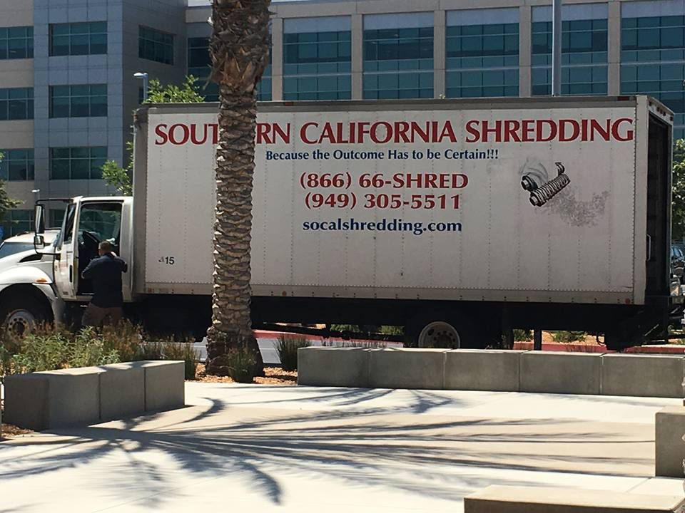 The truck bearing the slogan: Because the Outcome has to be Certain!!!