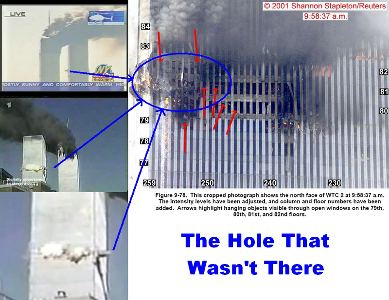 The hole that wasn't there 9/11