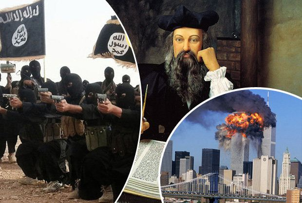 DOOM AND GLOOM: Nostradamus predicted ISIS and the 9/11 attacks.