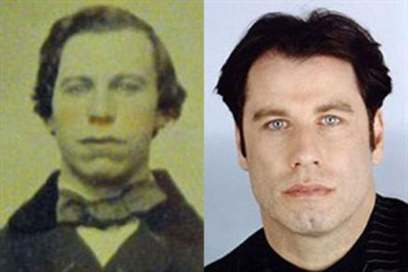 John Travolta lookalike