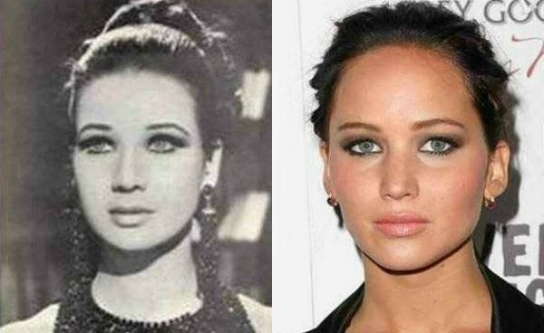 Jennifer Lawrence lookalike