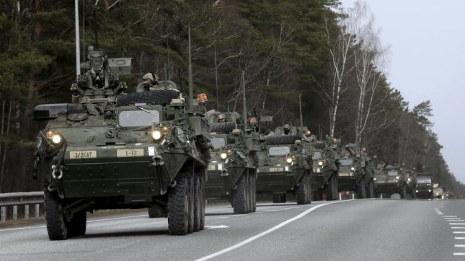 Largest NATO buildup against Russia since Cold War underway