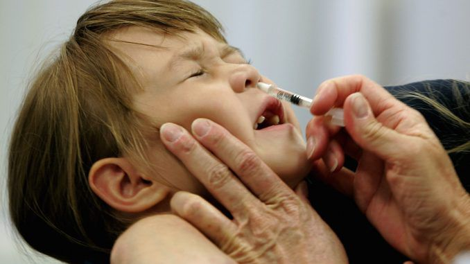 Scientists warn that nasal spray flu vaccine is completely ineffective