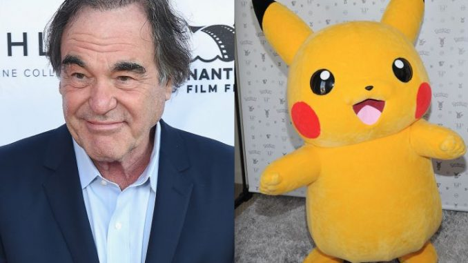 Oliver Stone Says Pokémon Go Could Lead To Totalitarianism