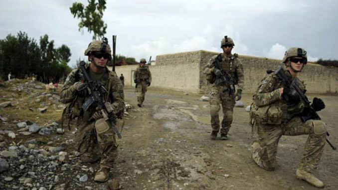 US Deploys Troops To Southern Afghanistan