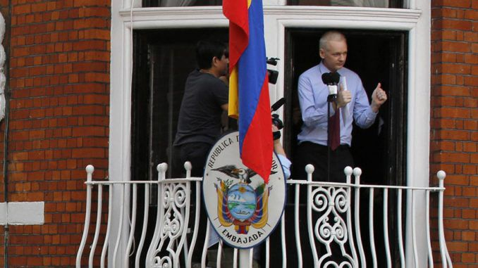 WikiLeaks founder Julian Assange says the police response to the embassy break-in was deliberately slow
