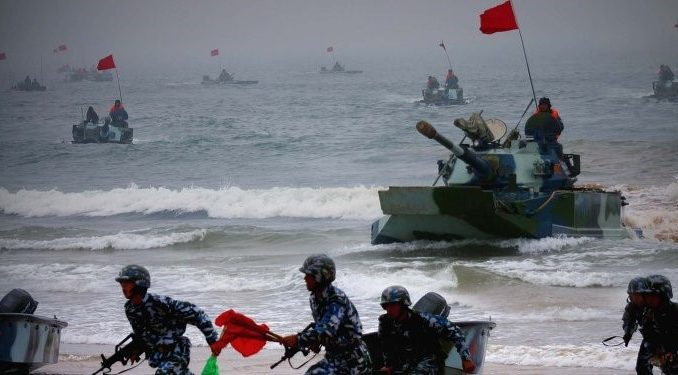 China conducts military drills in preparation for 'sudden war' with U.S.