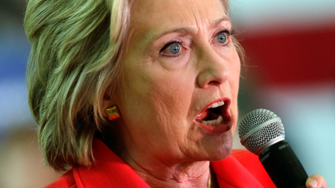 Hillary Clinton threatens to shut down alternative media websites