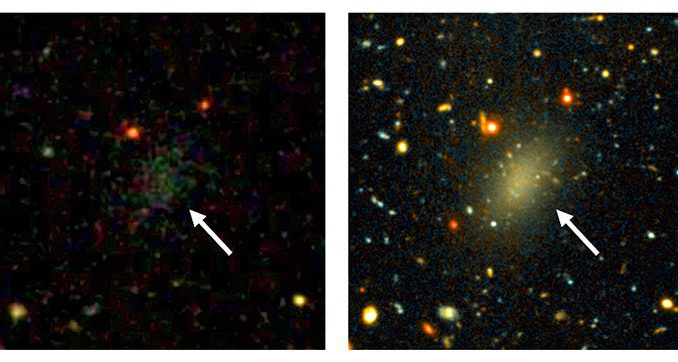 Scientists discover dark matter galaxy similar to our Milky Way