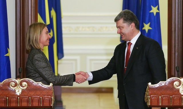 EU Promises To Back Ukraine Amid Mounting Tensions With Russia