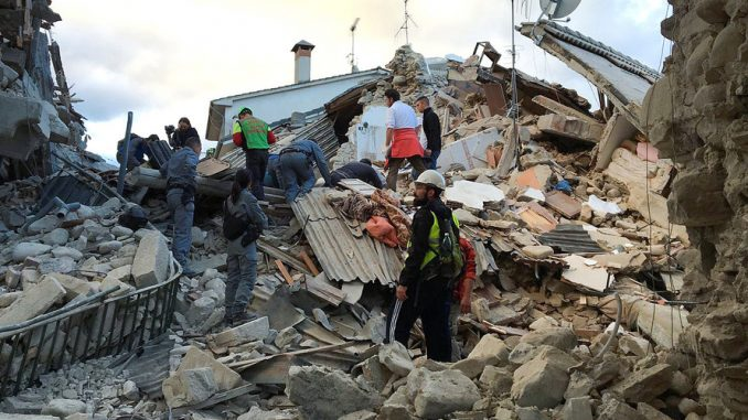 At Least 38 Dead As 6.2 Earthquake Shakes Central Italy