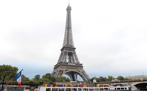 Eiffel Tower Evacuated - Soldiers & Armed Police Searching Tourists