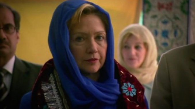 Hillary Clinton's secret meeting with senior Muslim Brotherhood officials captured on video