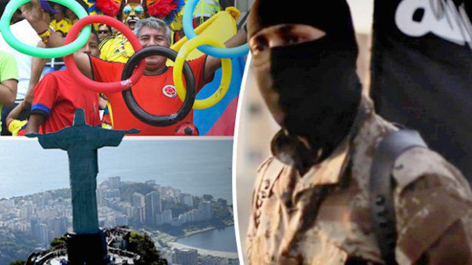 ISIS have warned they plan to explode a dirty bomb at the Rio 2016 Olympics