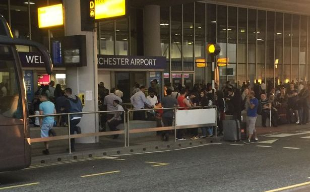 Manchester Airport Terminal 2 Evacuated After Suspicious Bag Found