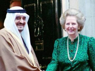 Margaret Thatcher had crucial role in £42bn arms deal with Saudi Arabia, declassified documents reveal