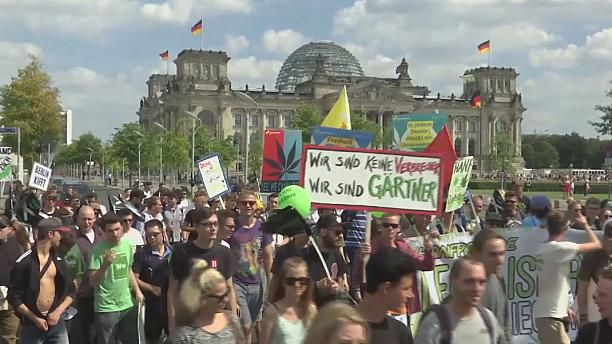 Thousands Rally In Germany To Call For Marijuana Legalization