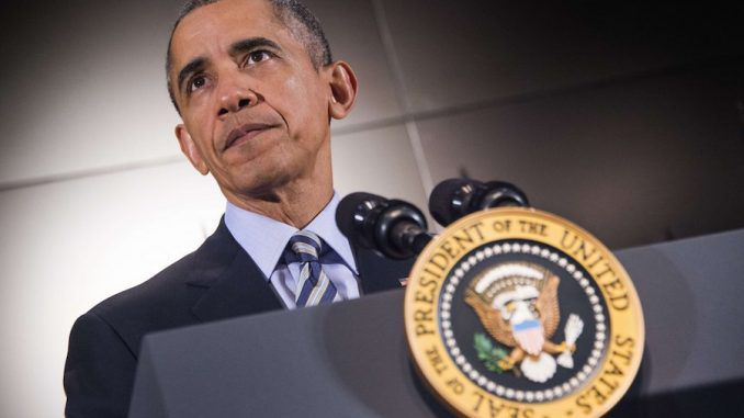 Obama says that global warming deniers should not be allowed to own guns