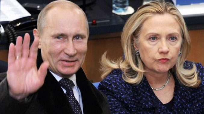 Much to the dismay of Hillary Clinton, Putin has rocketed up the popularity charts of world figures according to a British poll.