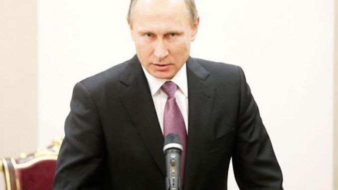 Putin issues an urgent warning to the United States of America