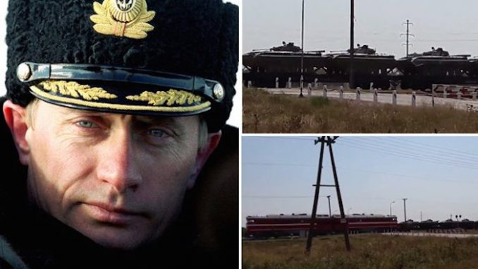 Russian tanks roll into Ukraine sparking World War 3 fears
