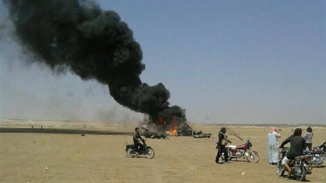 Russian Military Helicopter Shot Down In Syria Killing All On Board