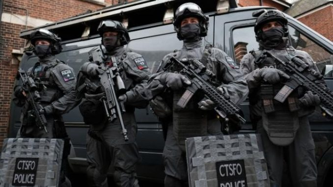 London launch massive anti-terror operation, deploying robocops to the streets