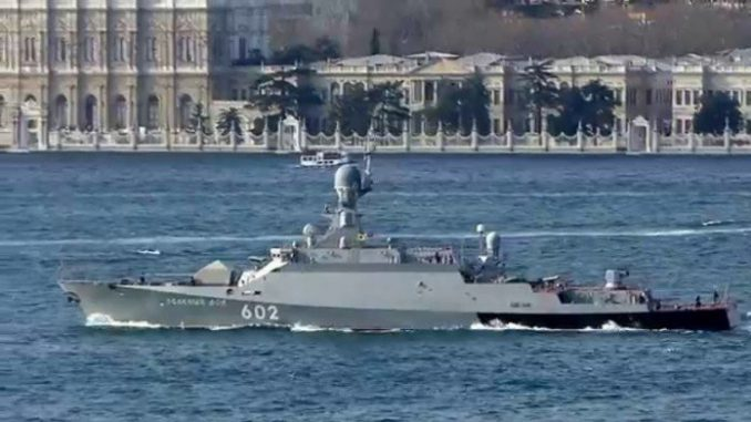 Russia To Hold Naval Drills Near Syria