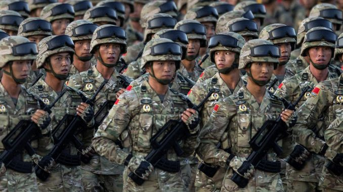 """China Sides With Russia In Syria Bringing """"Aid & Military Training"""