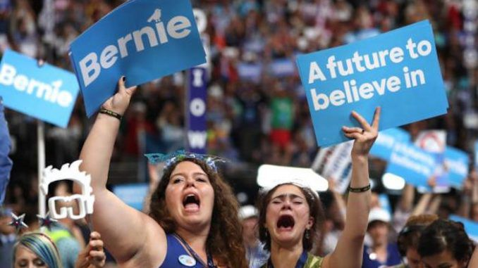 Thousands of disenfranchised Democratic party members who feel their voice was trampled on by the DNC have begun the #DemExit.