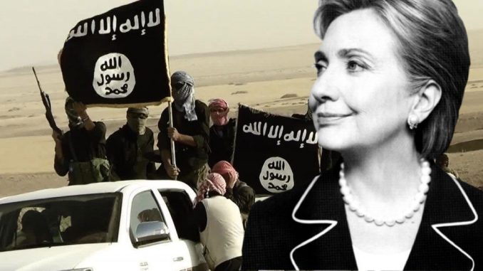 Wikileaks say that Hillary Clinton got wealthy by supporting ISIS