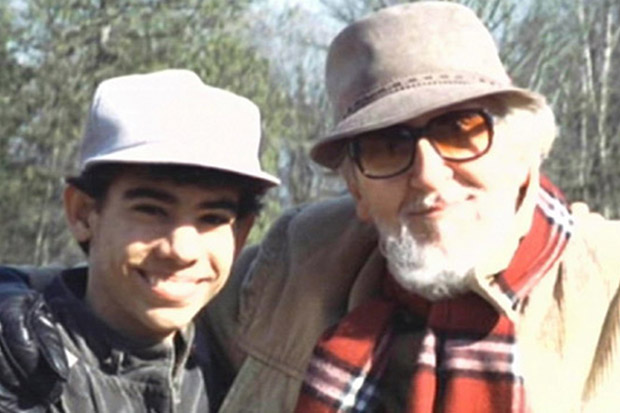 Berg with his stepson Davidito, who later left the cult and blew the whistle on the institutional child abuse