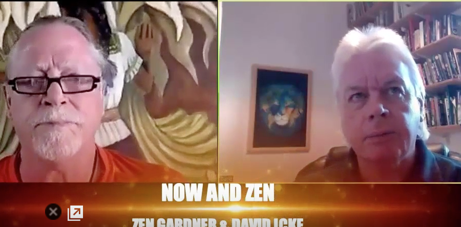 David Icke promoting Zen Gardner's work
