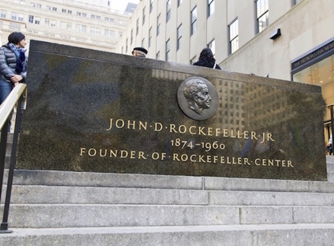 John D. Rockefeller, the oil tycoon who helped create Big Pharma.