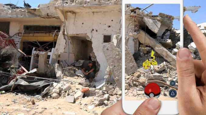 The Israeli army ban Pokemon Go app