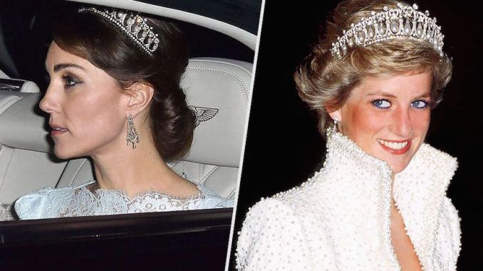 Kate Middleton is living in fear for her life and believes she will be killed in a car accident in an eerily similar manner to the late Princess Diana.