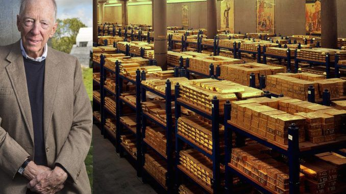 Jacob Rothschild ditches the Dollar in favour of gold