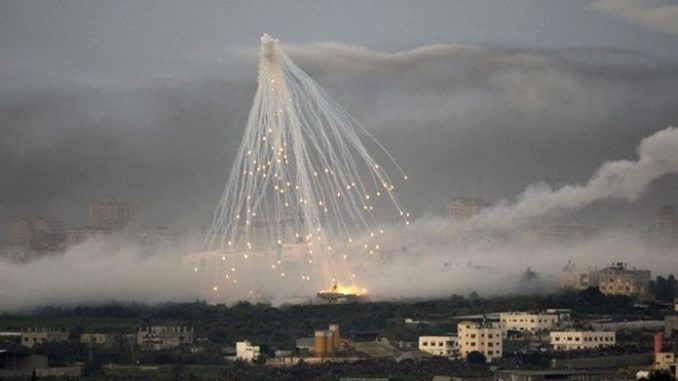 white phosphorus