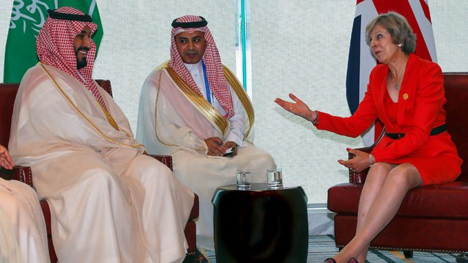 British PM Defends Arms Sales To Saudi Arabia