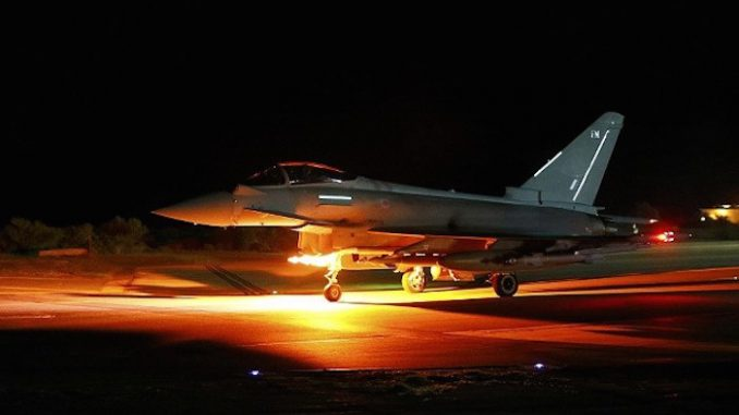 British Airforce admit they helped America bomb Syrian troops
