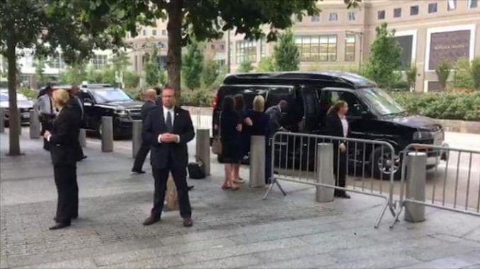 Hillary Clinton Rushed Away From 9/11 Ceremony After 'Medical Episode'