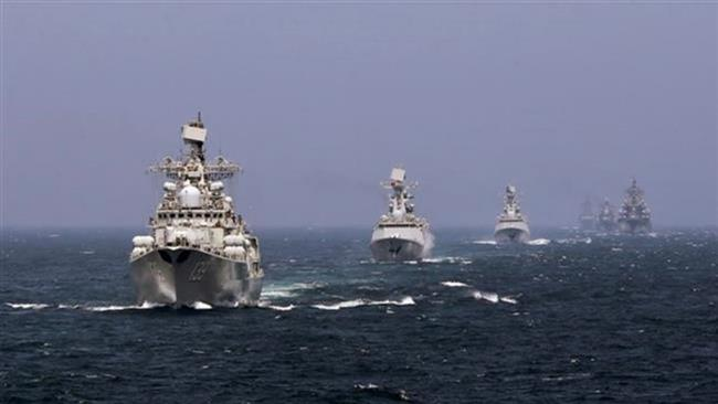 China & Russia Begin Joint Naval Drills In Disputed South China Sea