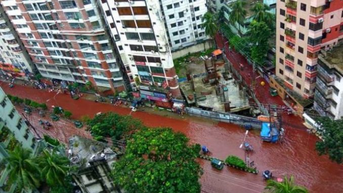 Streets Of Dhaka Turn To Rivers Of Blood