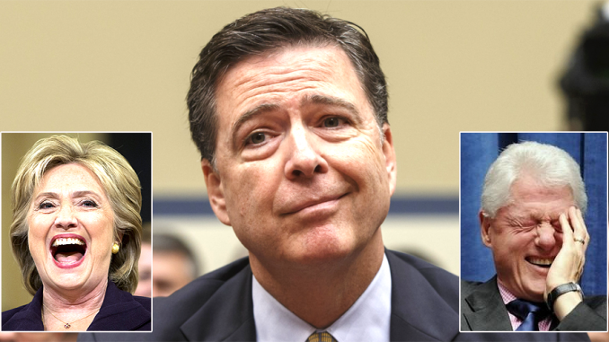 The FBI investigation into Hillary's use of an email server was an 'inside job' designed to lead to nothing